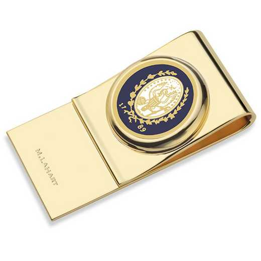 615789928355: Georgetown University Enamel Money Clip