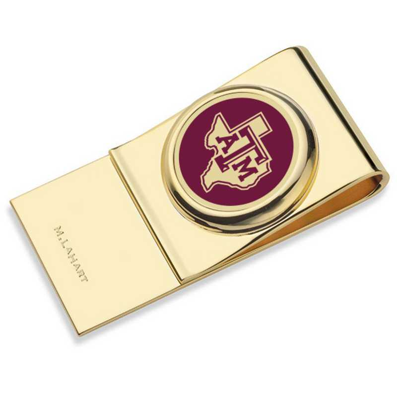 615789971696: Texas A&M University Enamel Money Clip