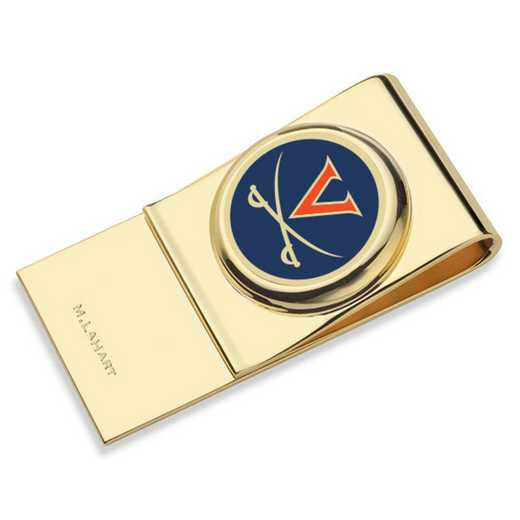 615789983675: University of Virginia Enamel Money Clip