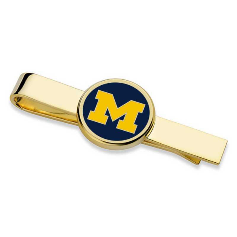 615789053330: University of Michigan Enamel Tie Clip
