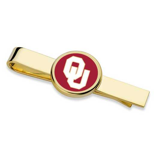 615789114734: Oklahoma Tie Clip