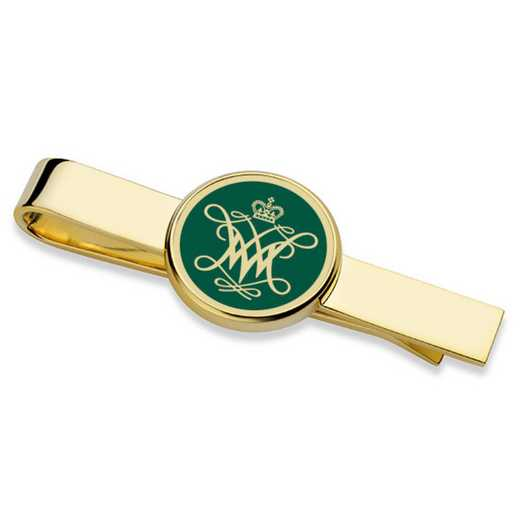 615789183556: College of William & Mary Enamel Tie Clip