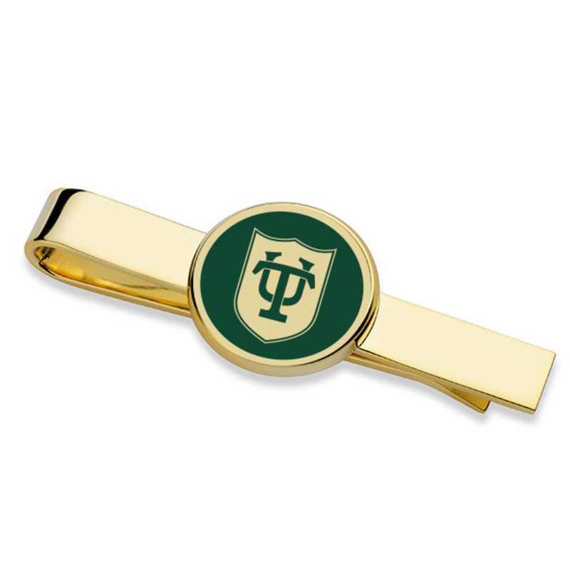 615789184898: Tulane University Tie Clip