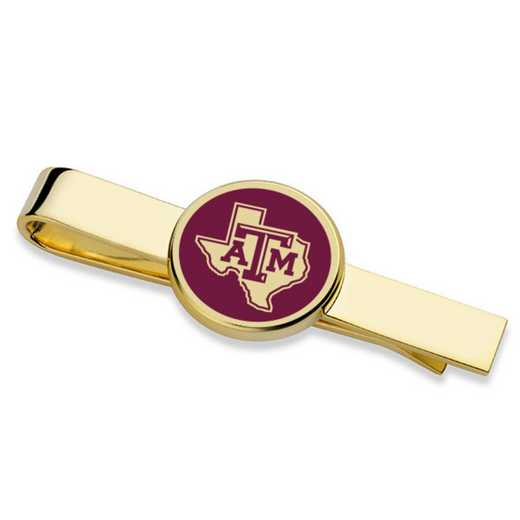 615789315056: Texas A&M University Tie Clip