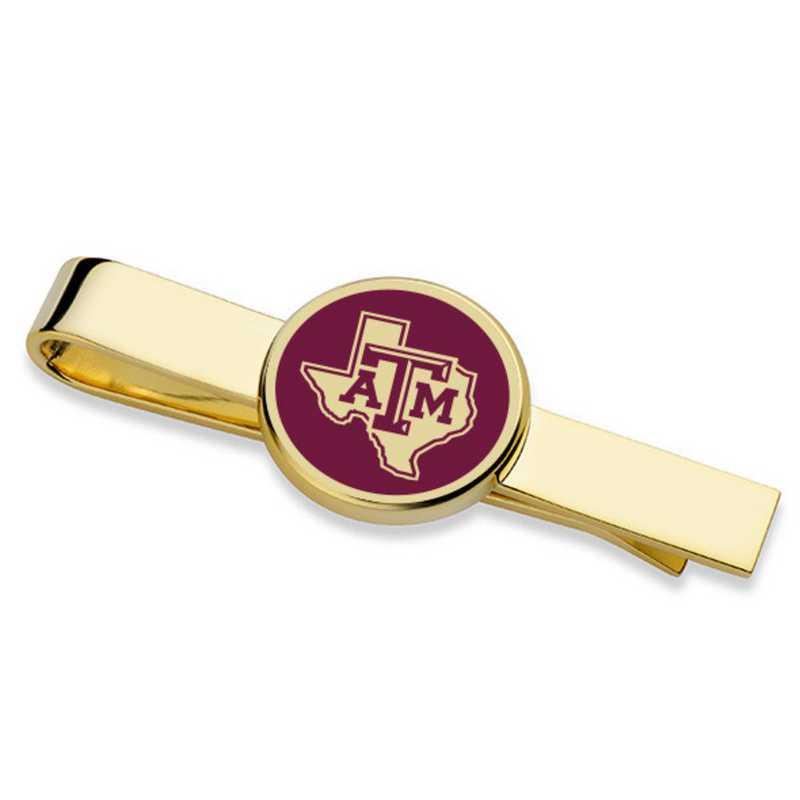 615789315056: Texas A&M University Tie Clip