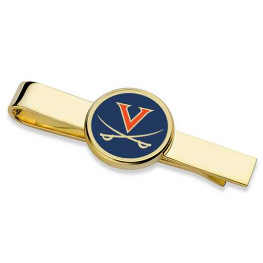 615789486312: University of Virginia Enamel Tie Clip
