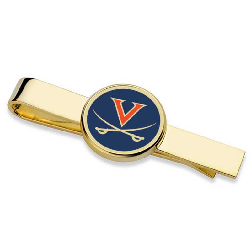 615789486312: University of Virginia Enamel Tie Clip