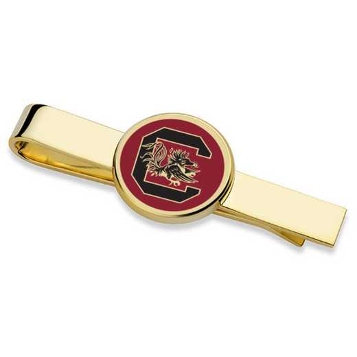 615789508380: University of South Carolina Enamel Tie Clip