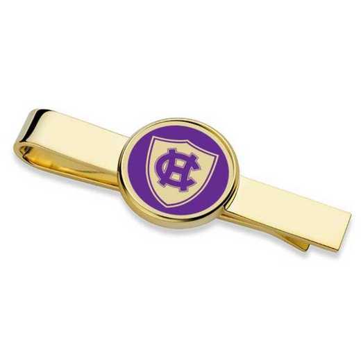 615789576334: Holy Cross Enamel Tie Clip