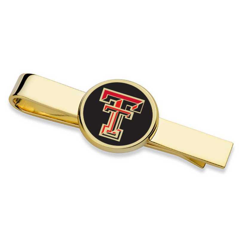 615789671466: Texas Tech Tie Clip