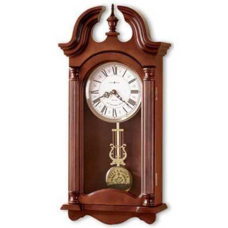 615789177432: Villanova Howard Miller Wall Clock
