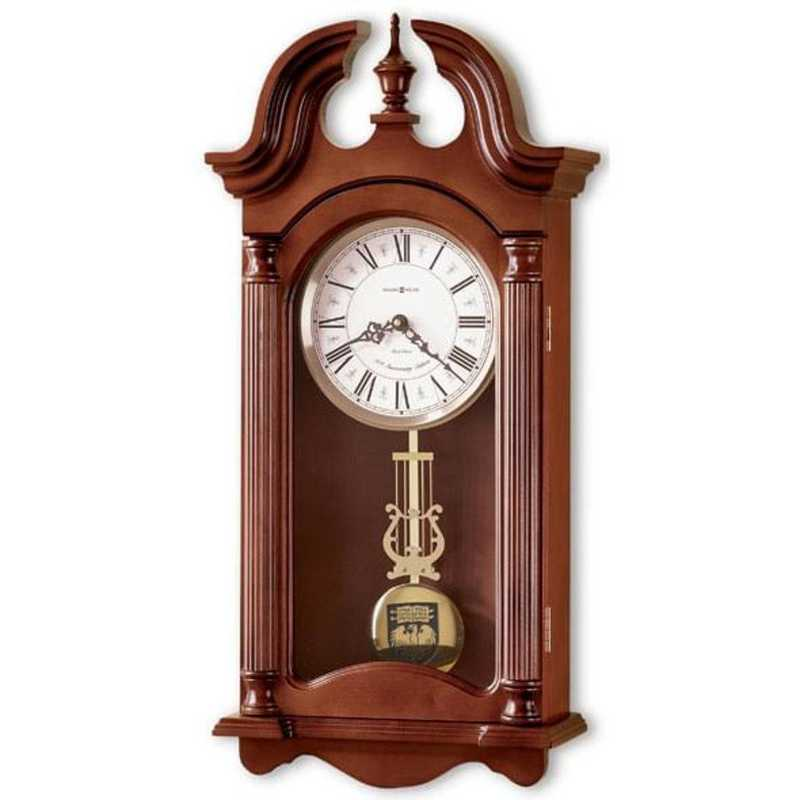 615789189138: UChicago Howard Miller Wall Clock