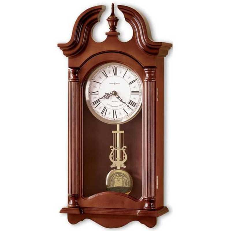 615789234258: UNC Howard Miller Wall Clock