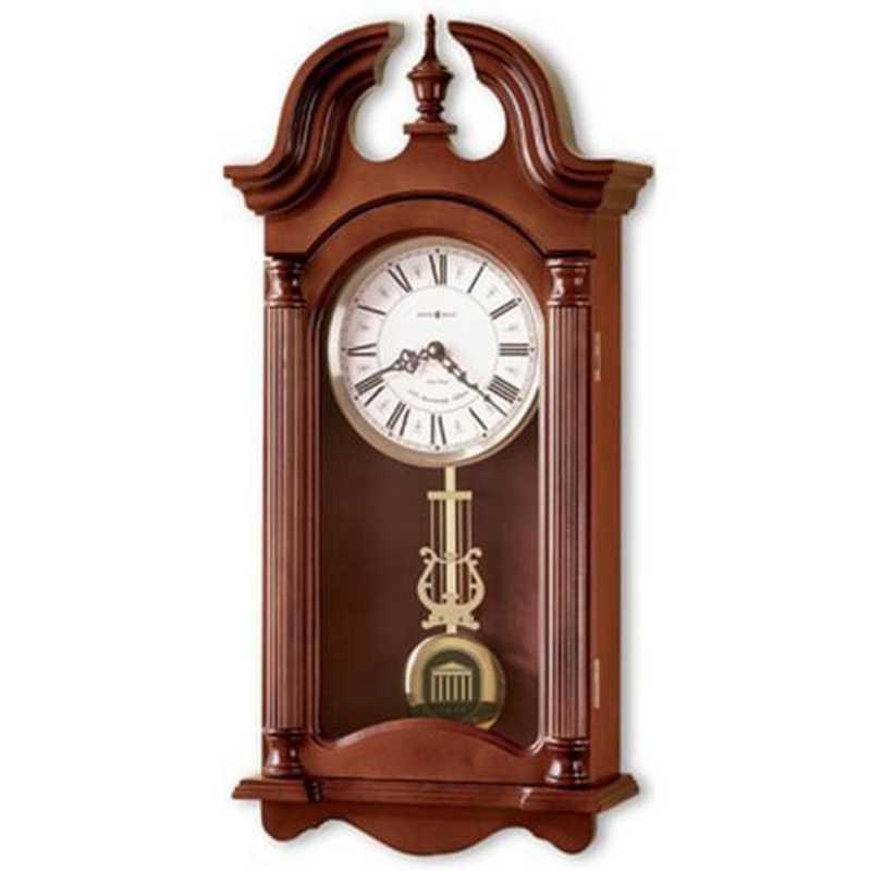 615789354697: Ole Miss Howard Miller Wall Clock