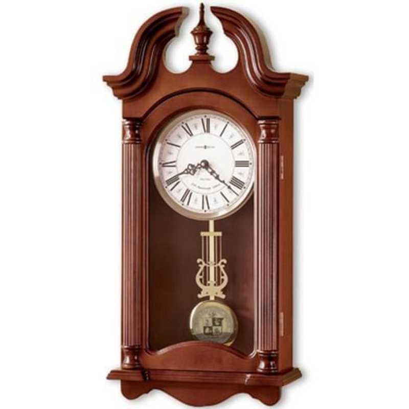 615789422877: Virginia Tech Howard Miller Wall Clock