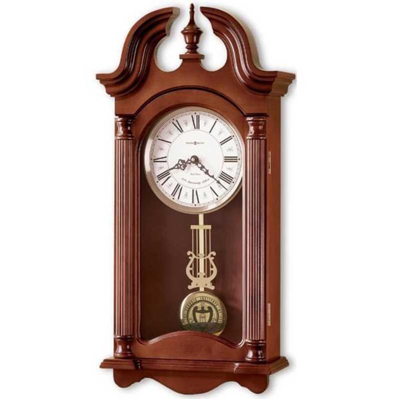 615789464112: Georgia Tech Howard Miller Wall Clock