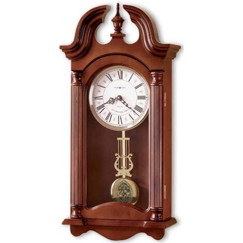 615789928294: Johns Hopkins Howard Miller Wall Clock