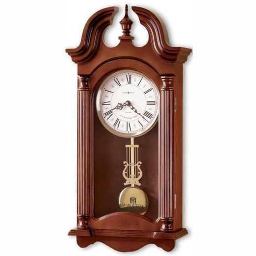 615789982708: Marquette Howard Miller Wall Clock