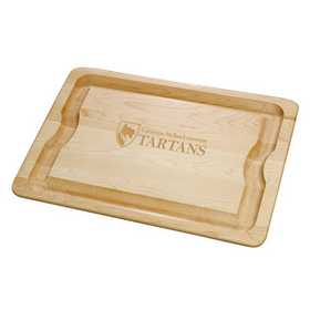 615789037484: Carnegie Mellon UNIV Maple Cutting Board by M.LaHart & Co.