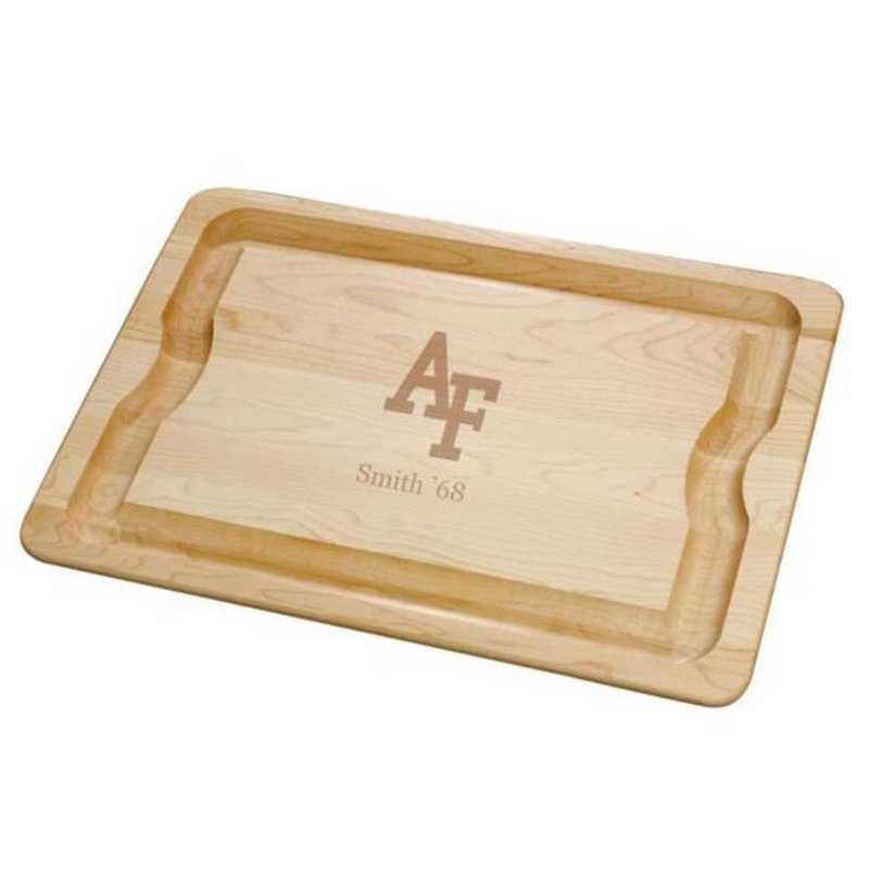 615789211044: USAFA Maple Cutting Board by M.LaHart & Co.