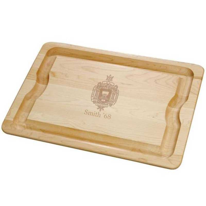 615789280033: USNA Maple Cutting Board by M.LaHart & Co.