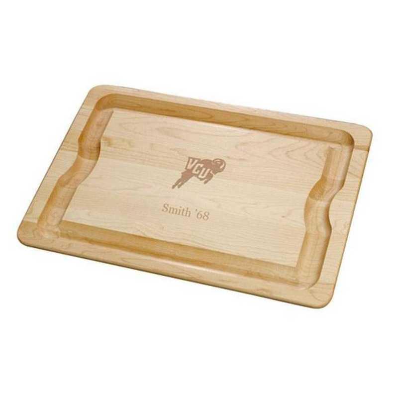 615789502661: VCU Maple Cutting Board by M.LaHart & Co.