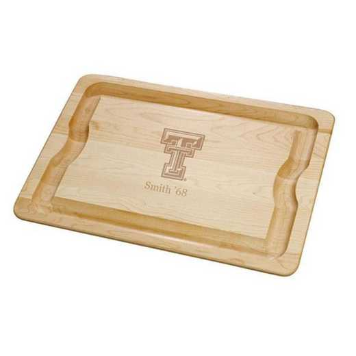 615789515968: Texas Tech Maple Cutting Board by M.LaHart & Co.