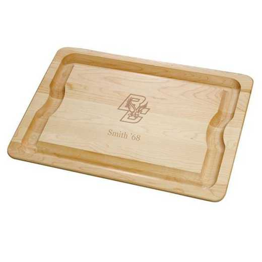 615789557760: Boston College Maple Cutting Board by M.LaHart & Co.
