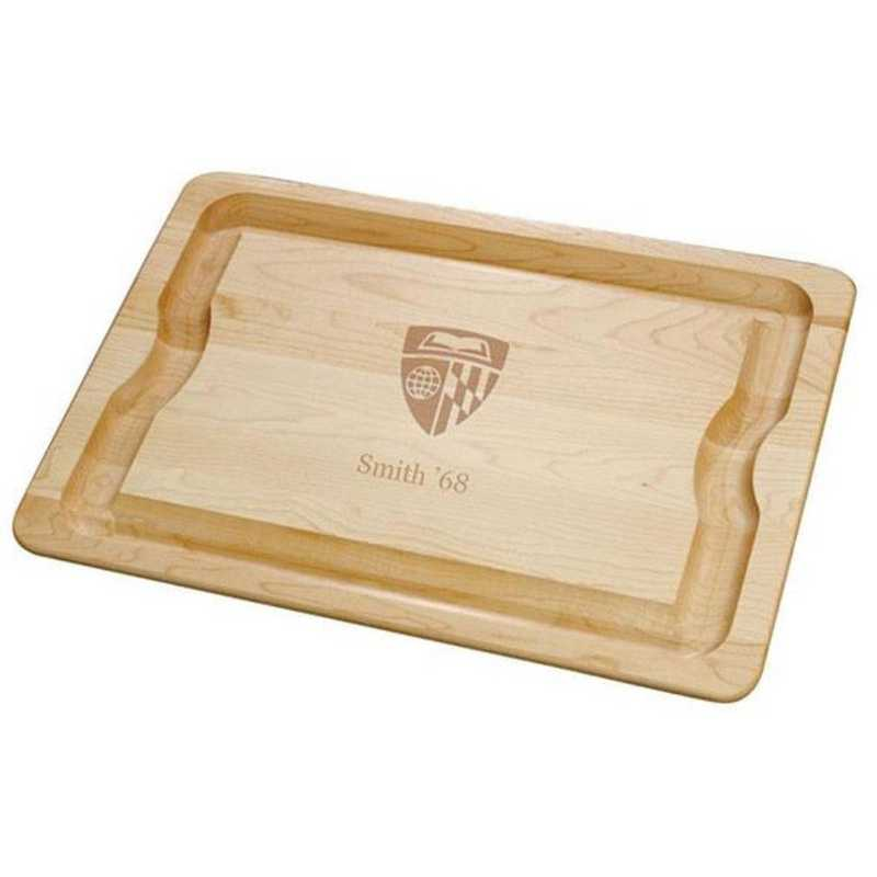 615789632542: Johns Hopkins Maple Cutting Board by M.LaHart & Co.