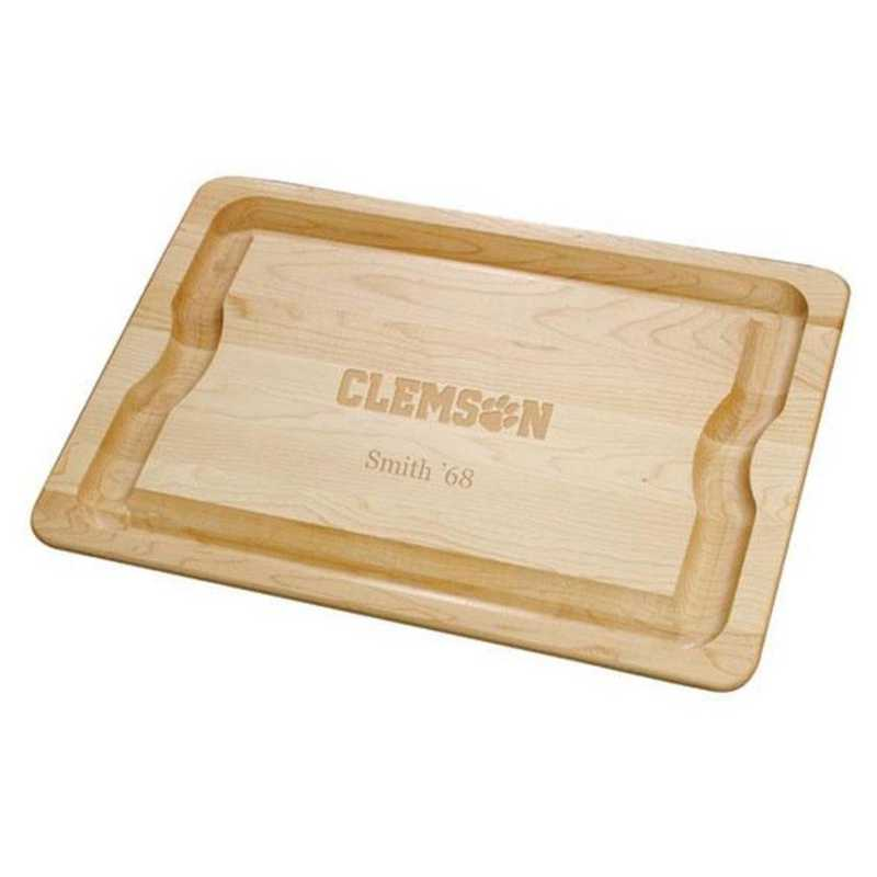 615789680611: Clemson Maple Cutting Board by M.LaHart & Co.