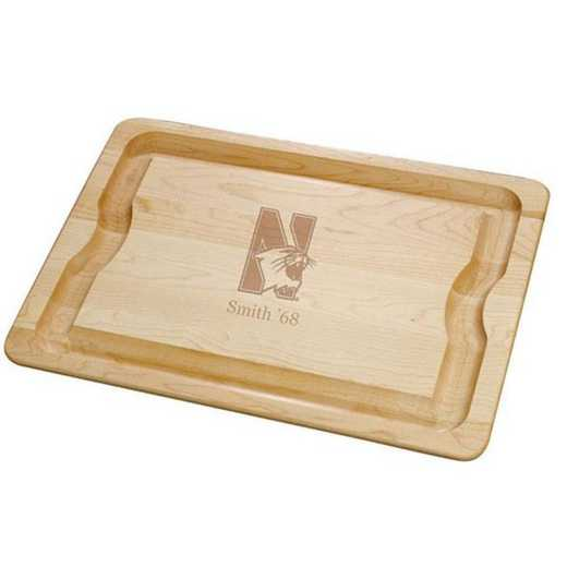 615789793410: Northwestern Maple Cutting Board by M.LaHart & Co.