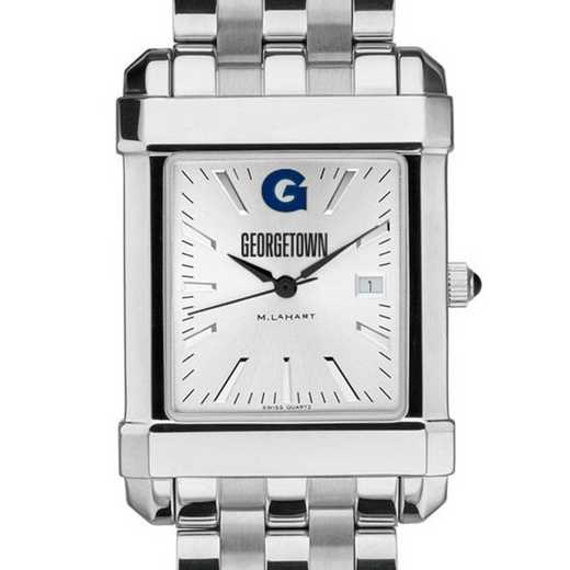 615789311102: Georgetown Men's Collegiate Watch w/ Bracelet