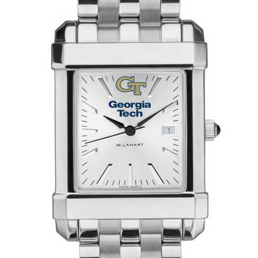 615789320715: Georgia Tech Men's Collegiate Watch w/ Bracelet