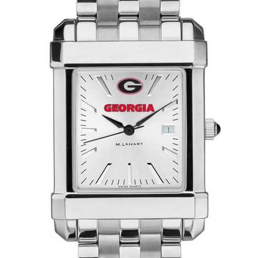 615789350514: Georgia Men's Collegiate Watch w/ Bracelet