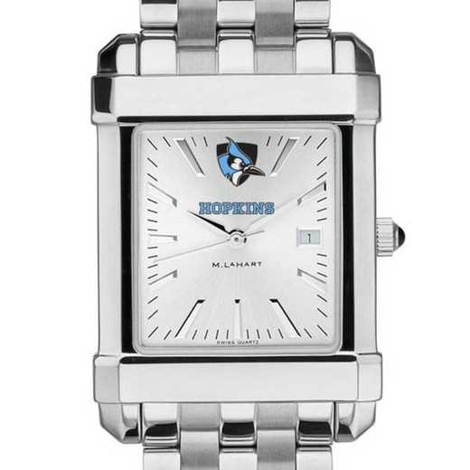 615789416074: Johns Hopkins Men's Collegiate Watch w/ Bracelet