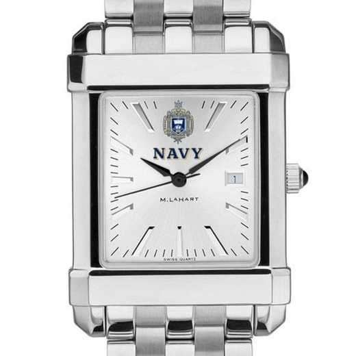 615789436850: Naval Academy Men's Collegiate Watch w/ Bracelet