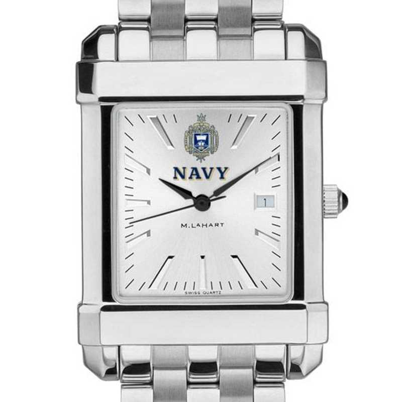 615789436850: Naval Academy Men's Collegiate Watch w/ Bracelet