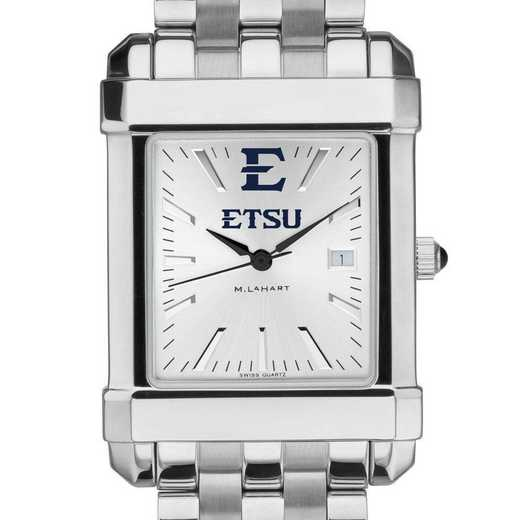 615789449812: East Tennessee State Univ Men's Collegiate Watch w/ Bracelet