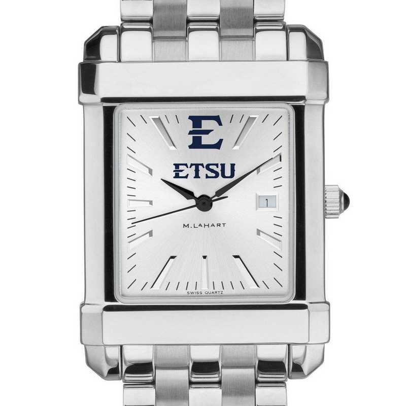 615789449812: East Tennessee State Univ Men's Collegiate Watch w/ Bracelet