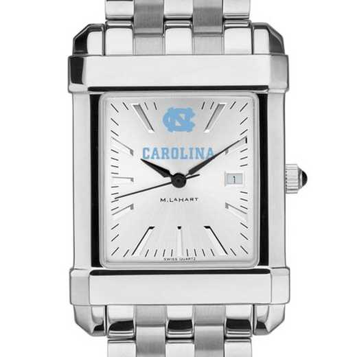615789480945: North Carolina Men's Collegiate Watch w/ Bracelet