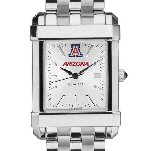 615789522539: University of Arizona Men's Collegiate Watch w/ Bracelet