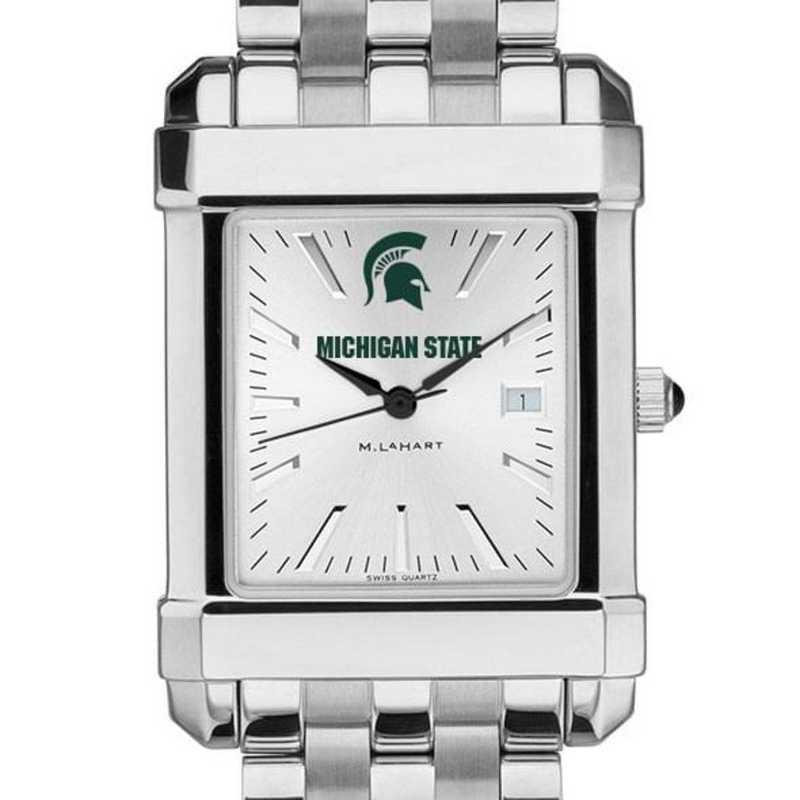 615789613558: Michigan State Men's Collegiate Watch w/ Bracelet