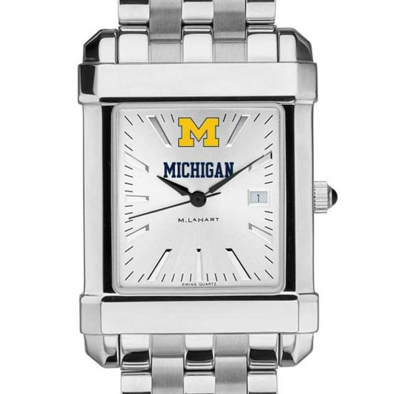 615789680314: Michigan Men's Collegiate Watch w/ Bracelet