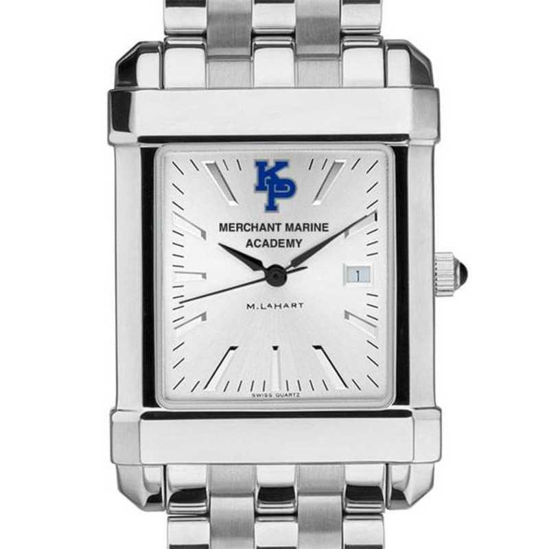 615789684817: Merchant Marine Academy Men's Collegiate Watch w/ Bracelet