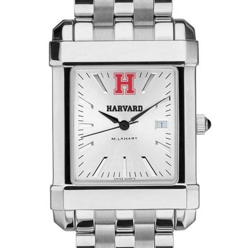 615789696506: Harvard Men's Collegiate Watch w/ Bracelet