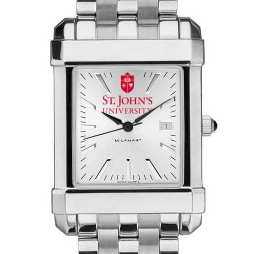 615789723172: St. John's Men's Collegiate Watch w/ Bracelet