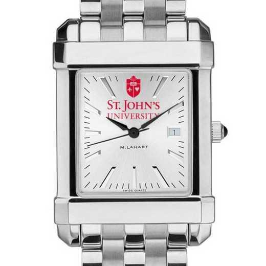 615789723172: St. John's Men's Collegiate Watch w/ Bracelet