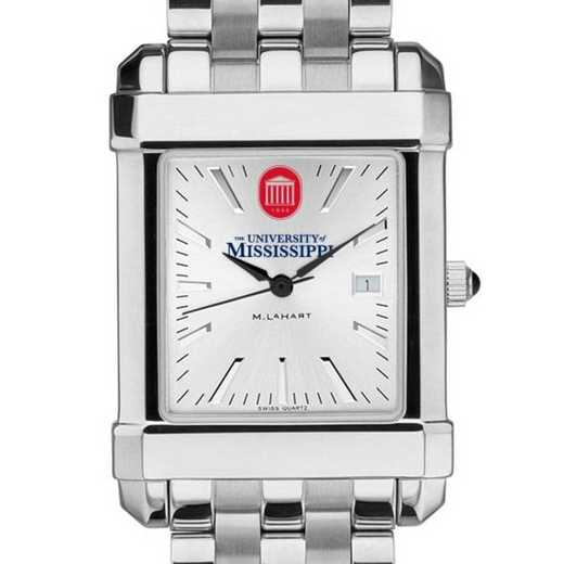 615789723530: Ole Miss Men's Collegiate Watch w/ Bracelet
