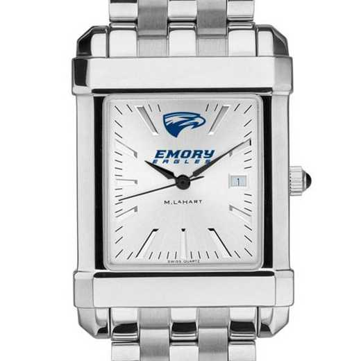 615789730446: Emory Men's Collegiate Watch w/ Bracelet