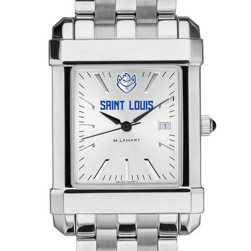 615789796855: Saint Louis University Men's Collegiate Watch w/ Bracelet